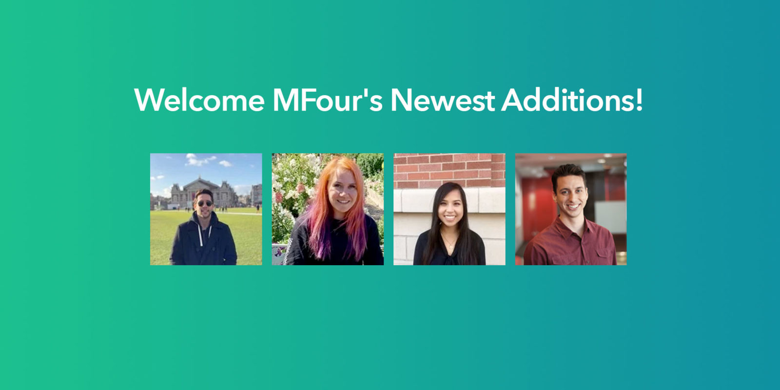 Welcome MFour's newest additions!