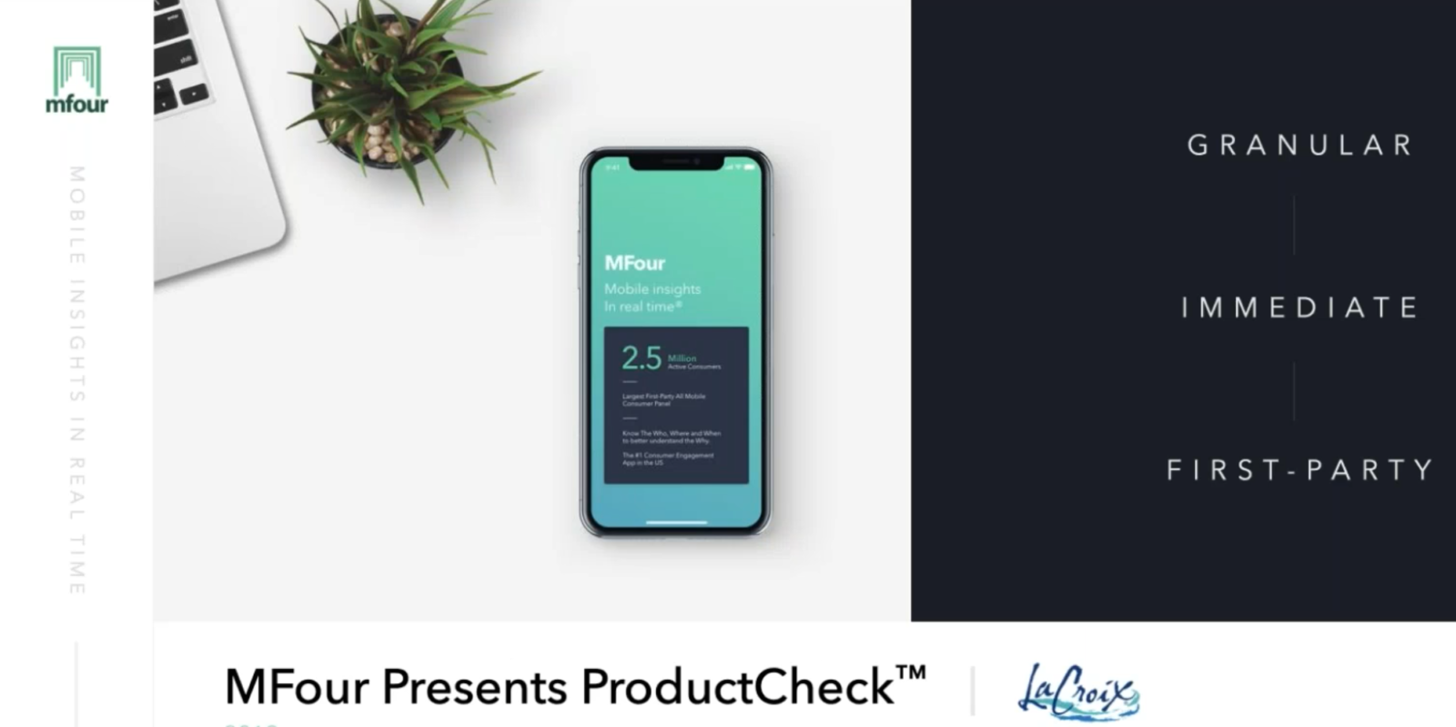 ProductCheck™ – An easy way to capture on-shelf consumer feedback.