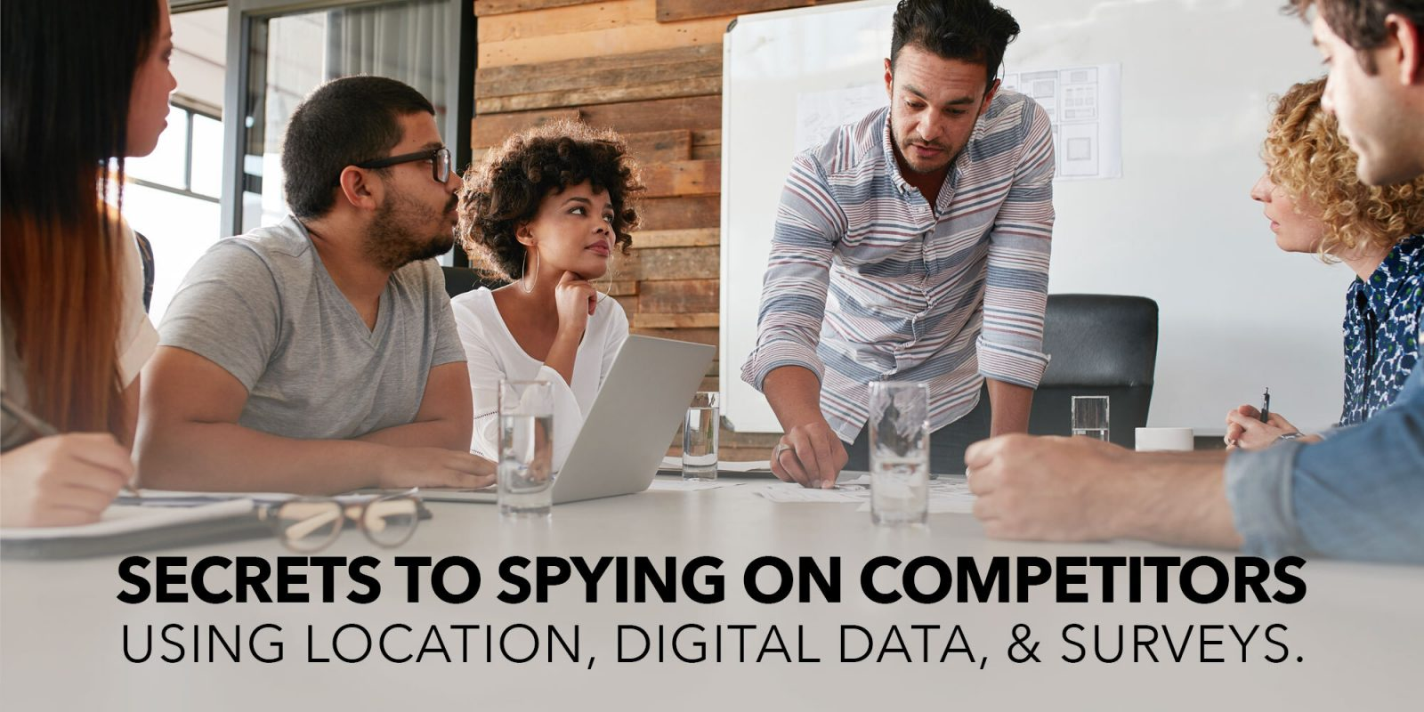 Secrets to spying on your competitors.