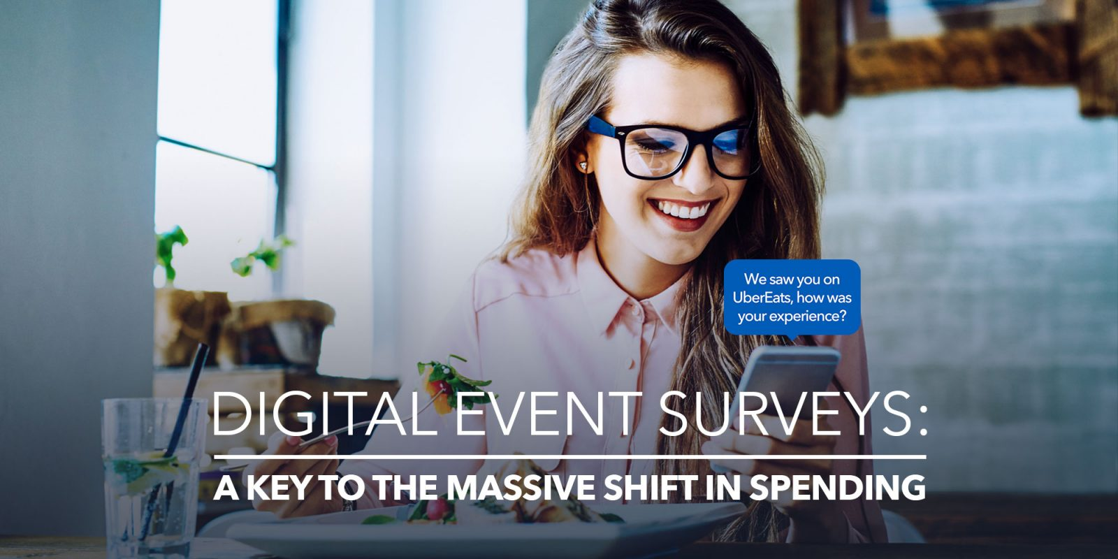 Digital event surveys: a key to the massive shift in spending.