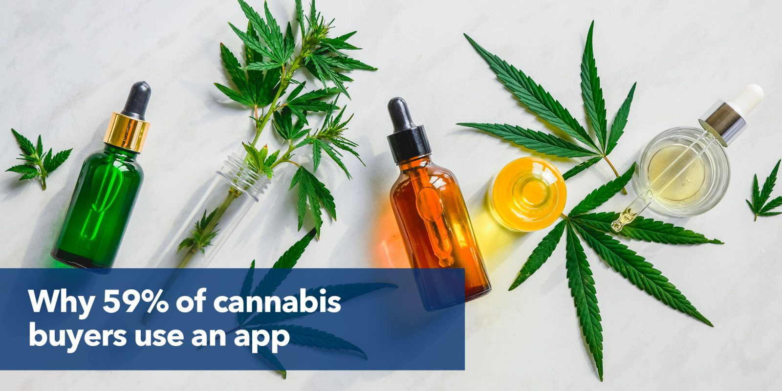 Why 59% of cannabis buyers use an app.