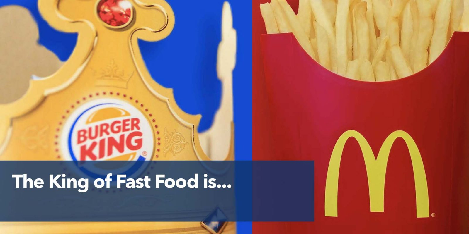 The King of Fast Food is…
